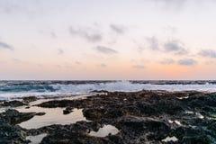Blue Ocean Shore during Daytime Stock Image