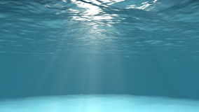 Blue ocean surface seen from underwater royalty free illustration