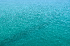 Blue Ocean Water Texture. Background Royalty Free Stock Photos
