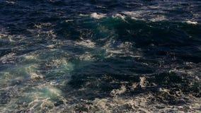 Blue ocean water stock video footage