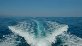 Blue ocean water with white waves Stock Photography