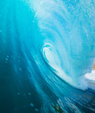 Blue Ocean Wave Royalty Free Stock Photography