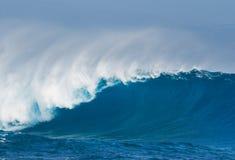 Blue Ocean Wave Royalty Free Stock Photos