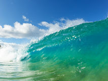 Blue Ocean Wave Royalty Free Stock Photo