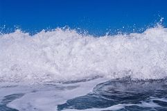 Blue Ocean Wave Stock Image