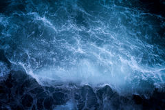 Blue Ocean Wave Stock Photography