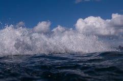Blue Ocean Wave Royalty Free Stock Image