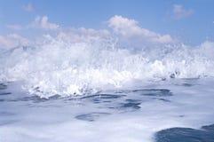 Blue Ocean Wave Stock Photo