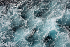 Blue Ocean Waves. Deep blue ocean waves, great texture Stock Image