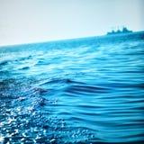 Blue Ocean Waves Stock Image