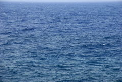 Blue ocean waves arund La Palma island, Canary Stock Photo
