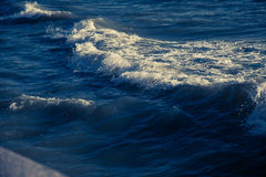 Blue ocean waves outdoor photography | Beauty nature background Stock Photos