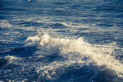 Blue ocean waves outdoor photography | Beauty nature background Stock Image