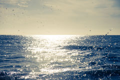 Blue ocean waves outdoor photography | Beauty nature background Stock Images