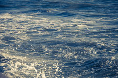 Blue ocean waves outdoor photography | Beauty nature background Stock Photography