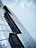 Blue office building Royalty Free Stock Images