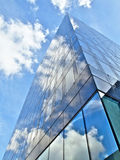 Blue office building Royalty Free Stock Photos