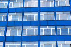 Blue Office Building Royalty Free Stock Photo