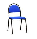 The blue office chair.  Stock Photos