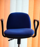 Blue office chair Royalty Free Stock Photography