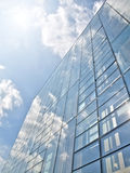 Blue offices building Royalty Free Stock Image