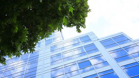 Blue Offices Building stock video