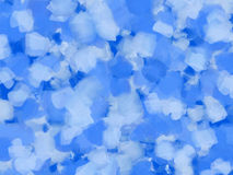 Blue oil paint background Royalty Free Stock Photo