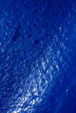 Blue oil painted ship deck abstract macro background high quality prints.  royalty free stock image