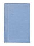 Blue old book Royalty Free Stock Image