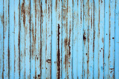 Blue old metal texture Royalty Free Stock Photos