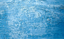 Blue old ragged surface. Ragged old blue plaster surface Royalty Free Stock Photo