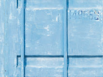 Blue old wall Royalty Free Stock Photography