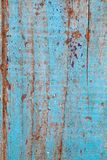 Blue old wood board texture. Retro graphic element.. Background texture pattern of weathered wooden plank. Blue wood paint texture for background and decoration Stock Images