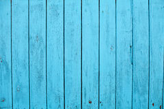 Blue old wooden background texture Stock Photography
