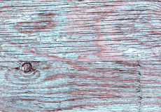 Blue old wooden boards Grange as a background texture. peeling paint. Copy space. Horizontal orientation. Royalty Free Stock Image