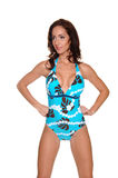 Blue One Piece Stock Photography