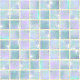 Blue Opal Mosaic Seamles. Image of Blue Opal Mosaic Seamless Textured Background royalty free illustration