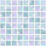 Blue Opal Mosaic seamless Royalty Free Stock Photos