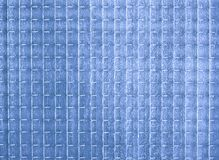 Blue opaque glass texture Stock Photography
