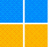 Blue and orange abstract backgrounds Royalty Free Stock Images