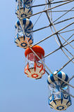 Fragment of the ferris wheel Stock Image