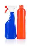 Blue and orange cleaner Stock Photography