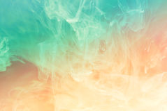Blue-orange gradient. Royalty Free Stock Photography