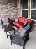 Patio Furniture royalty free stock photo