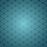 Blue Orient pattern Royalty Free Stock Photos