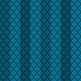 Blue oriental striped seamless pattern Stock Image