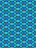 Blue ornament pattern Royalty Free Stock Photography