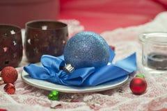 Blue Ornament Stock Image