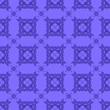 Blue Ornamental Seamless Line Pattern Royalty Free Stock Images