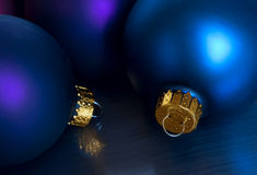 Blue ornaments Royalty Free Stock Images